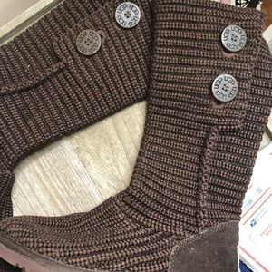 Uggs   Sweater Knit Boots Sz 7